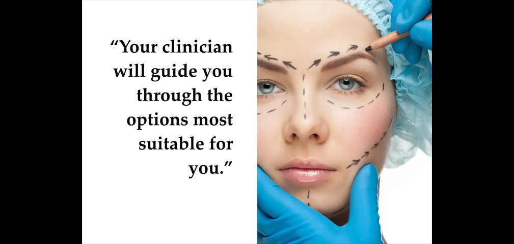 surgical face with quote